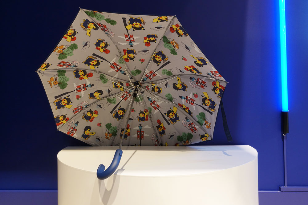 Pokémon Center Londres parapluie exclusif