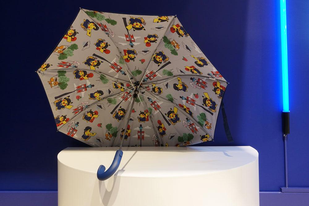 Pokémon Center Londres parapluie exclusif
