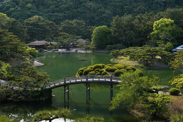ritsurin-koen préfecture kagawa