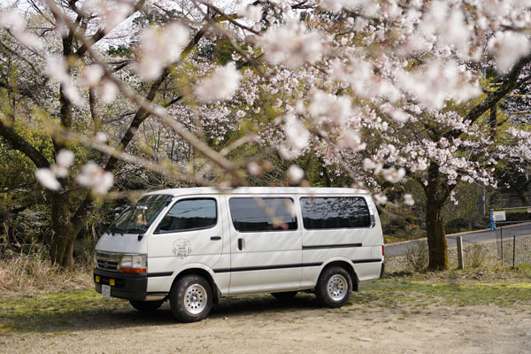 road trip japon van