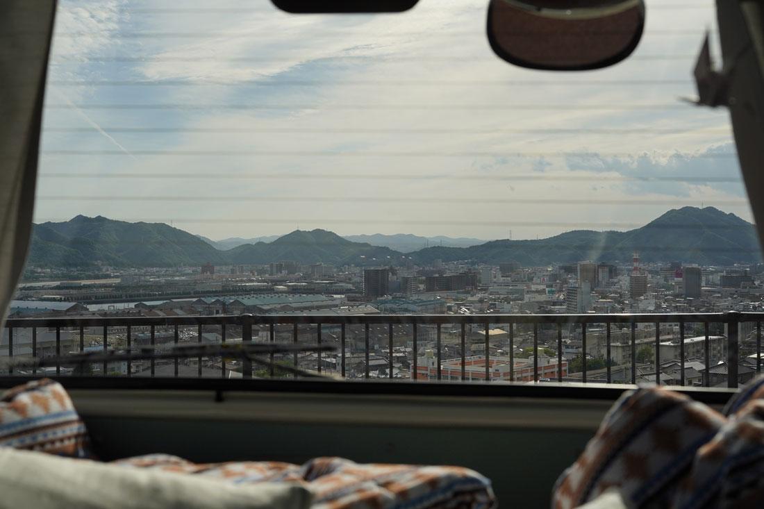 vue depuis le van japon