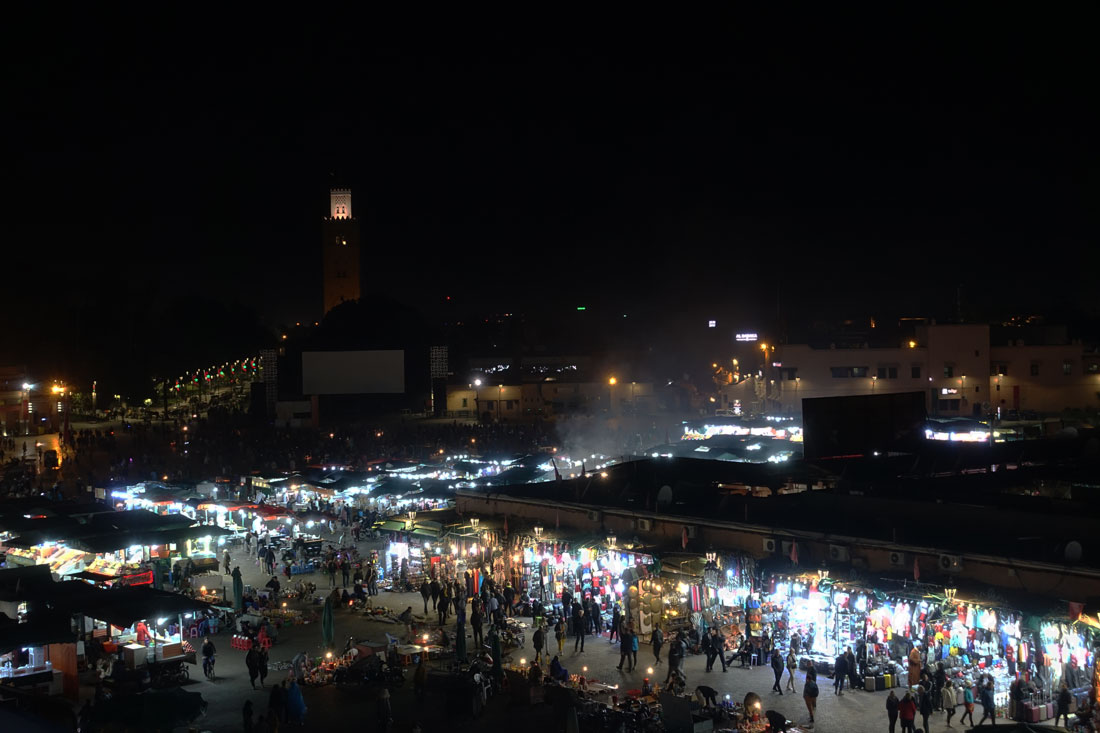 Place Jemaal El-fna Marrakech