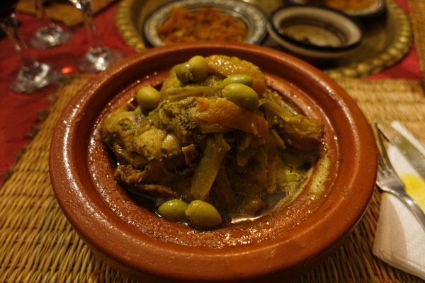 couscous chez Yassine Marrakech