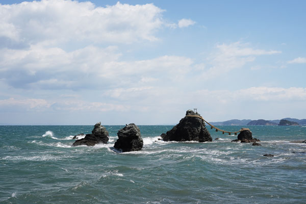Meoto Iwa préfecture Mie