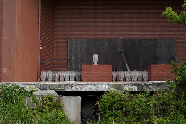 temple abandonné urbex japon