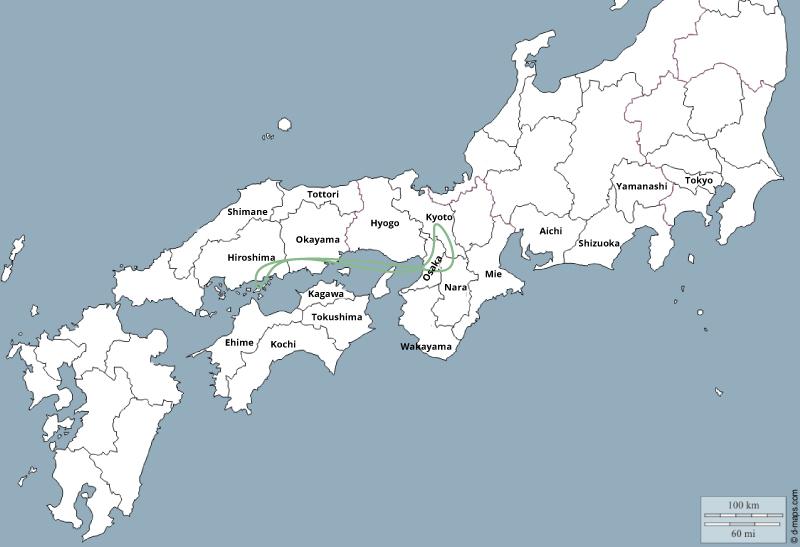 Japon 2 semaines itinéraire classique