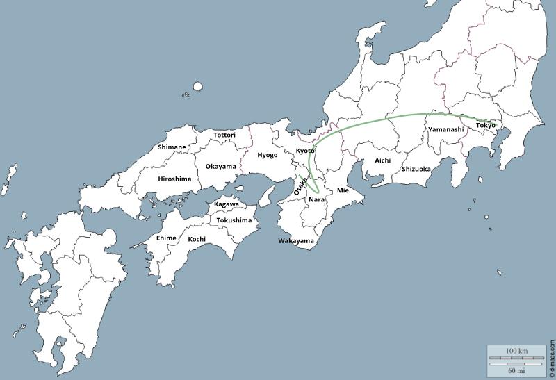2 semaines japon itinéraire classique
