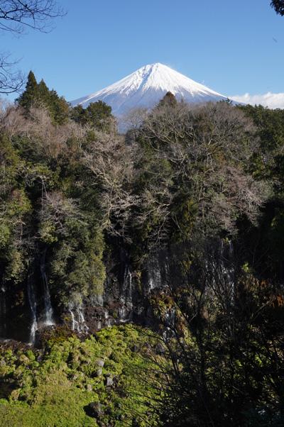 Chutes Shiraito Mont fuji