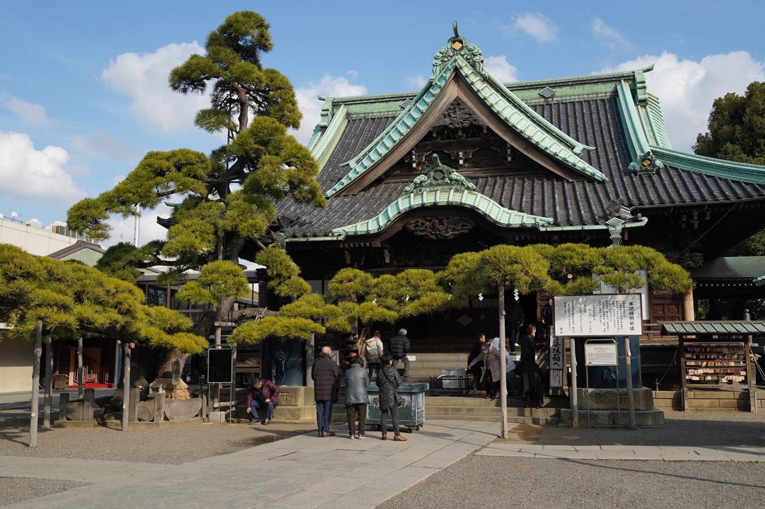 Shibamata Tokyo temple Taishakuten
