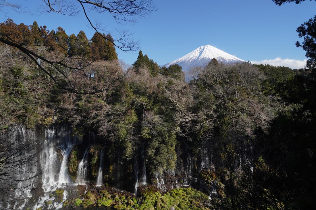 Chutes de Shiraito Mont Fuji Shizuoka