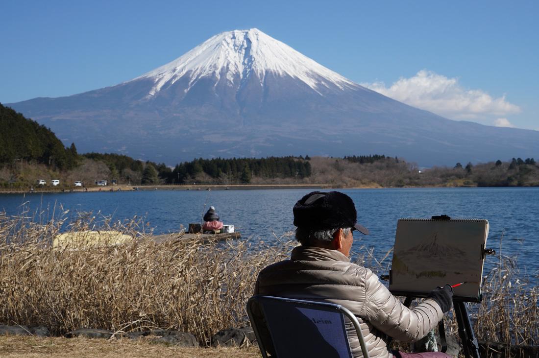 Lac Tanuki Shizuoka Mont Fuji