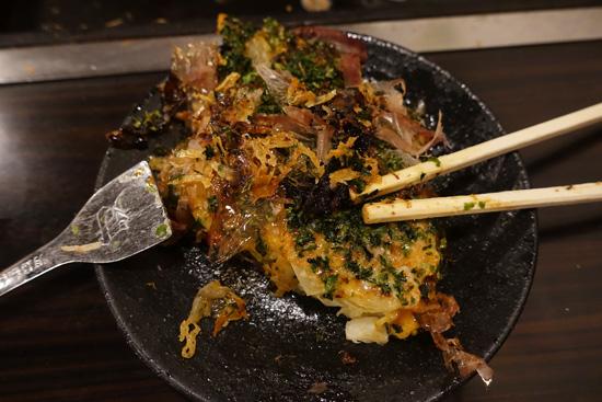 okonomiyaki Tsukishima Tokyo