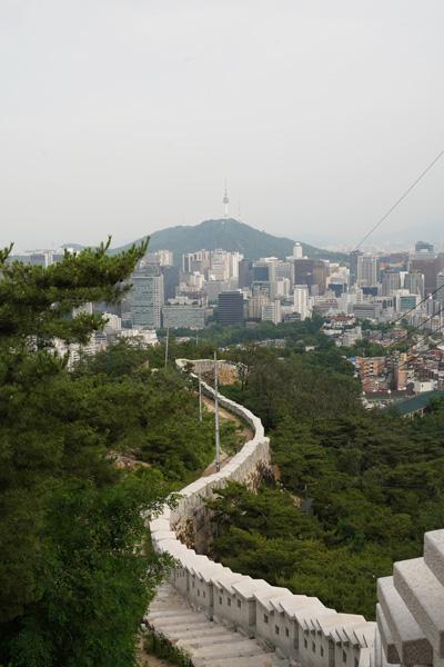 Inwangsan randonnée Séoul