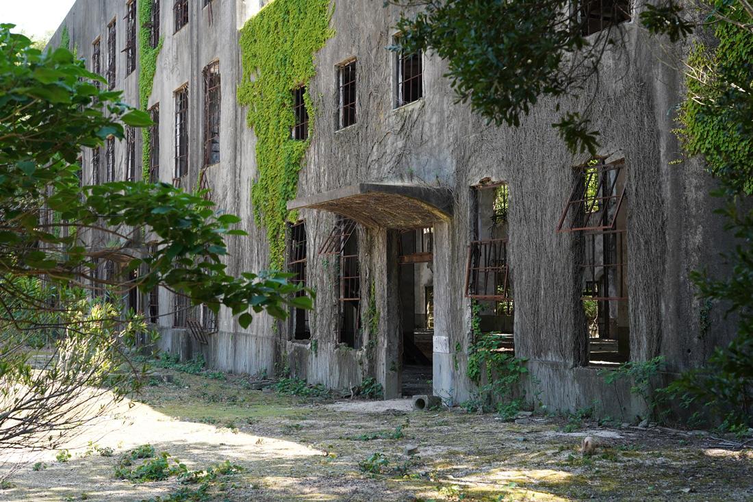 Okunoshima vestiges usines gaz