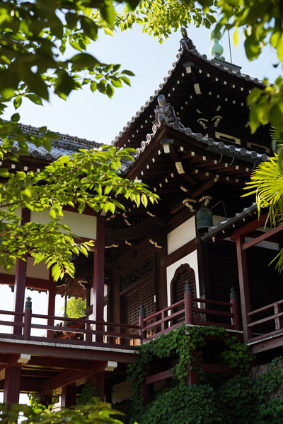 temple Saihoji Fumeikaku