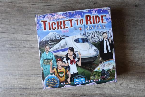Les aventuriers du rail jeux société Japon