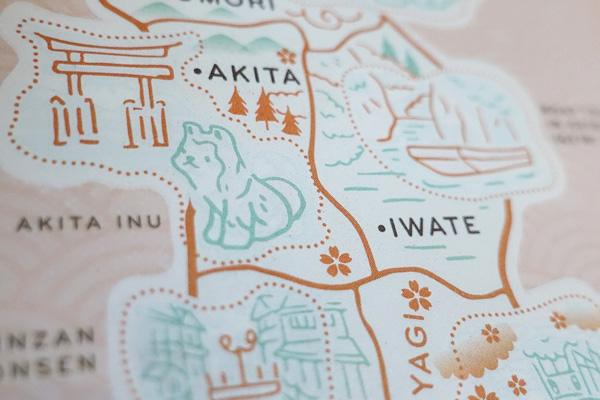 carte japon shiba inu