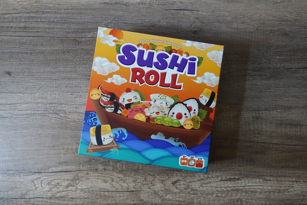 Sushi roll jeu Japon