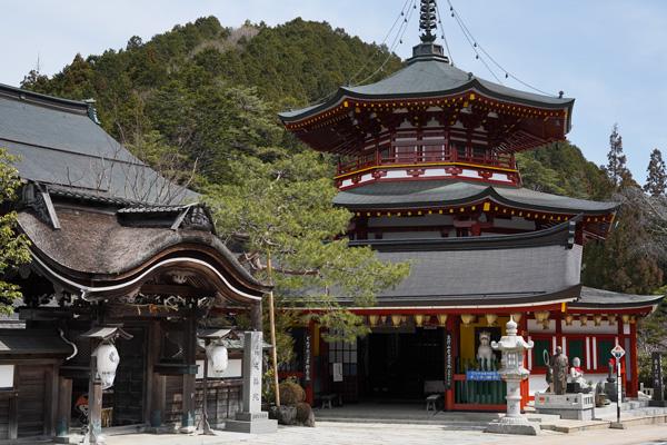 temples mont koya japon