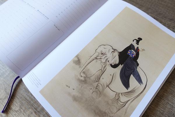 agenda japonais éditions scala