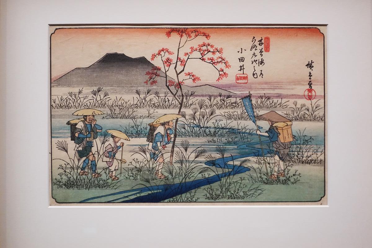 route kisokaido hiroshige