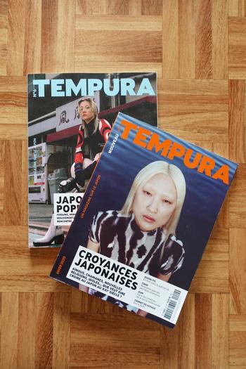 Tempura magazine Japon